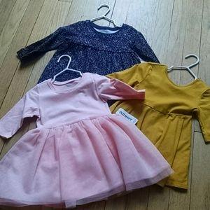 12-18 month dresses nwt